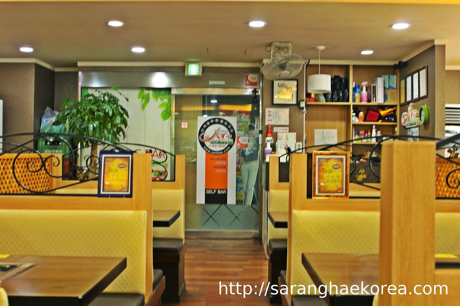 A Food Trip Venue At Self Bar 셀 빠 Buffet Restaurant In Hyehwa