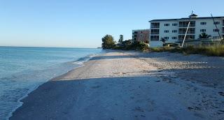 Manasota Key beach near Gulf Island Strand condos