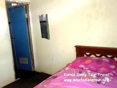 tempat tidur homestay dieng wonosobo