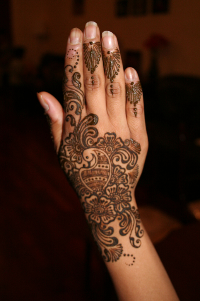 A To Z Mehndi Designs : Mehndi designs for hands arabic henna