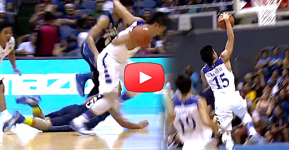 UAAP: Kiefer Ravena Steals and Takes Off for the Slam (VIDEO)