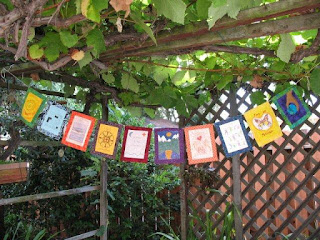 Bhavana Project prayer flags 2008