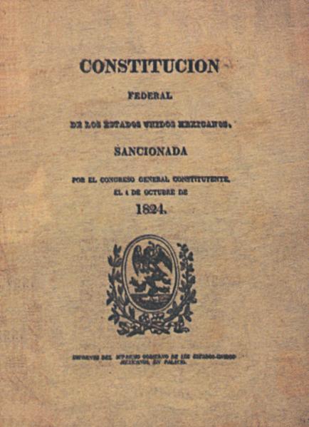 constitución de 1824 México