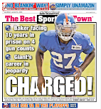 Giants continue run of debacle draft picks