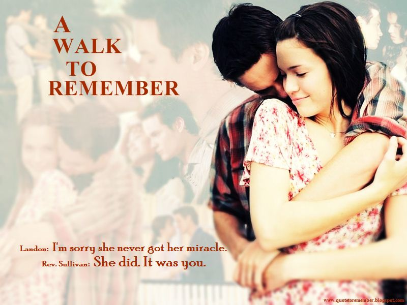 walk remember The official website of nicholas sparks, american novelist, screenwriter and producer he has seventeen published novels as of september 2013 plus one non-fiction.