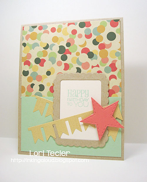 Happy Birthday to You card-designed by Lori Tecler/Inking Aloud-stamps from Verve Stamps