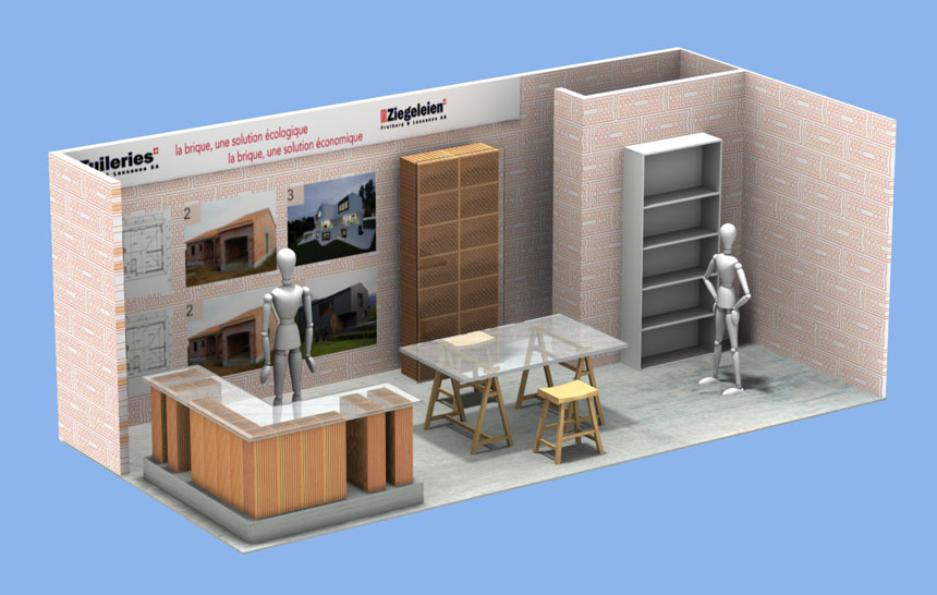 Tuilieries Exhibition Booth