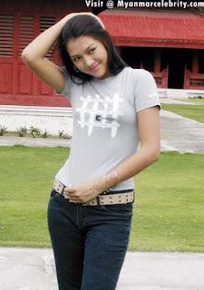 Thet Mon, Myanmar Model