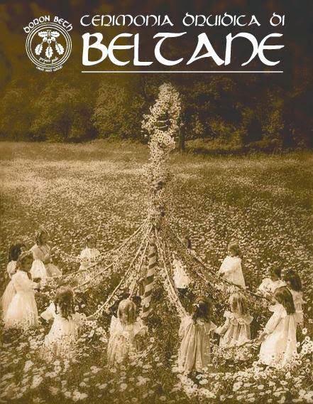 Cerimonia druidica di Beltane sul Monte Cinto