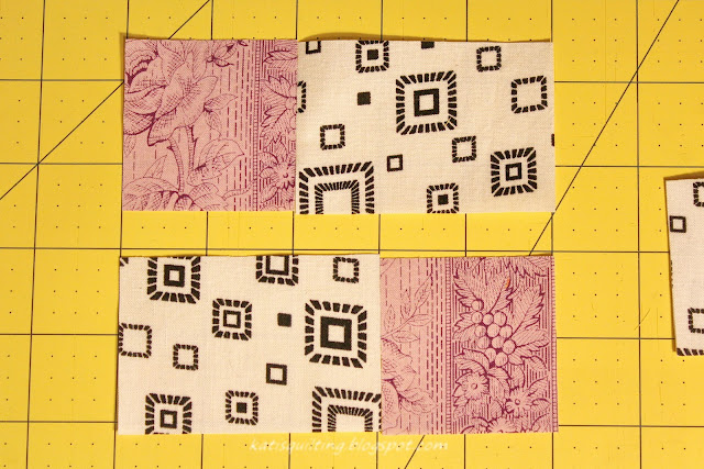 Kati S Quilting And Sewing Shaded 4 Patch Tutorial For
