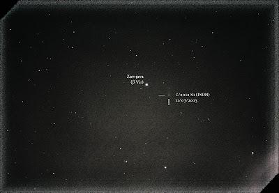 comet ison 300mm nov 7