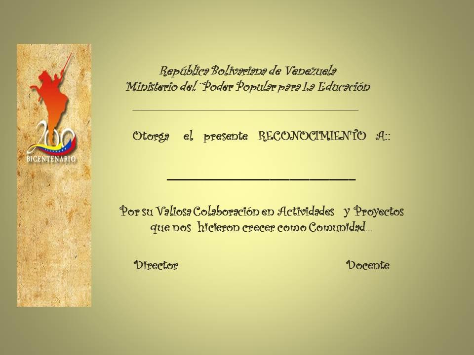Certificado De Reconocimiento Cristiano Para Imprimir