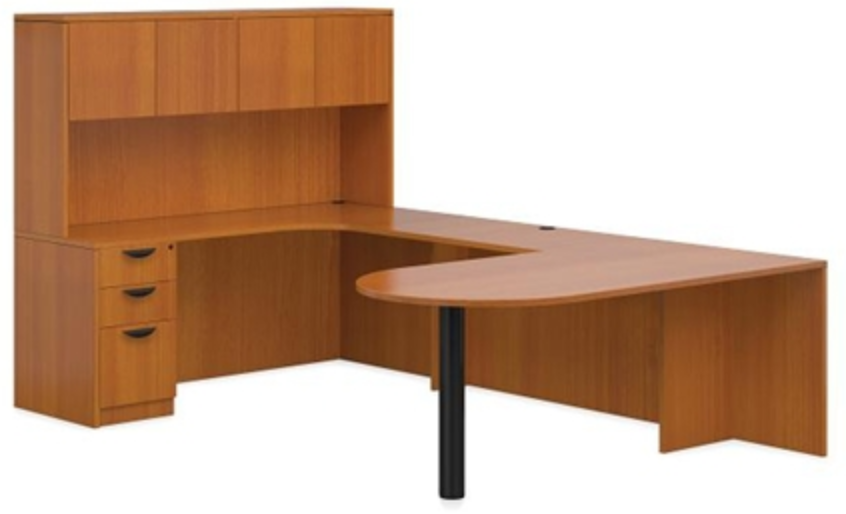 American Cherry Desk by Offices To Go