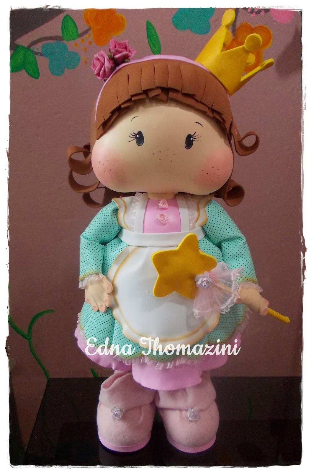Edna Thomazini ~ Boneca Magnólia Gigante Edna Thomazini Ateli u00ea Criativo