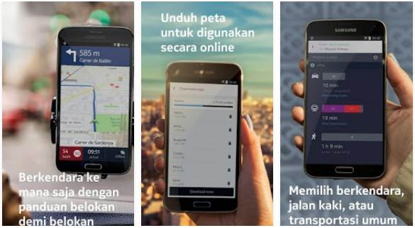 Download APK Here Maps Android dari Nokia Final