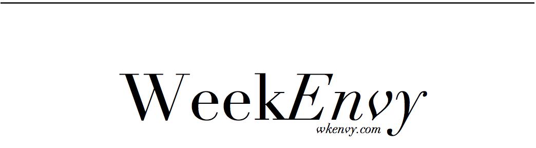 Weekenvy