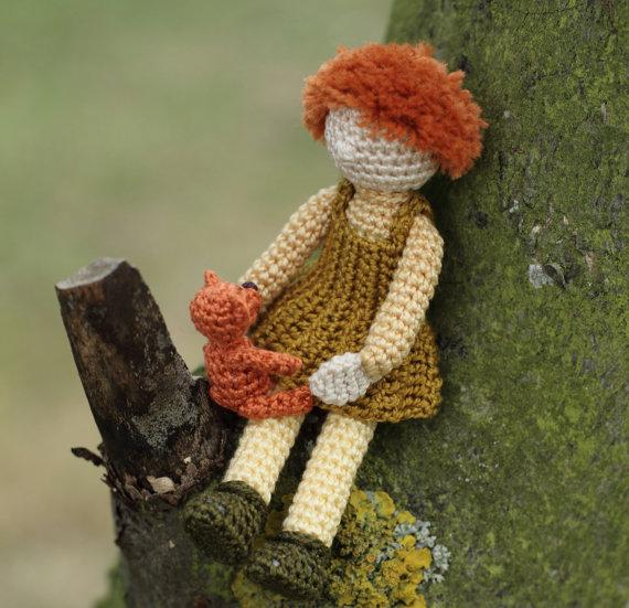 вязанные куклы крючком