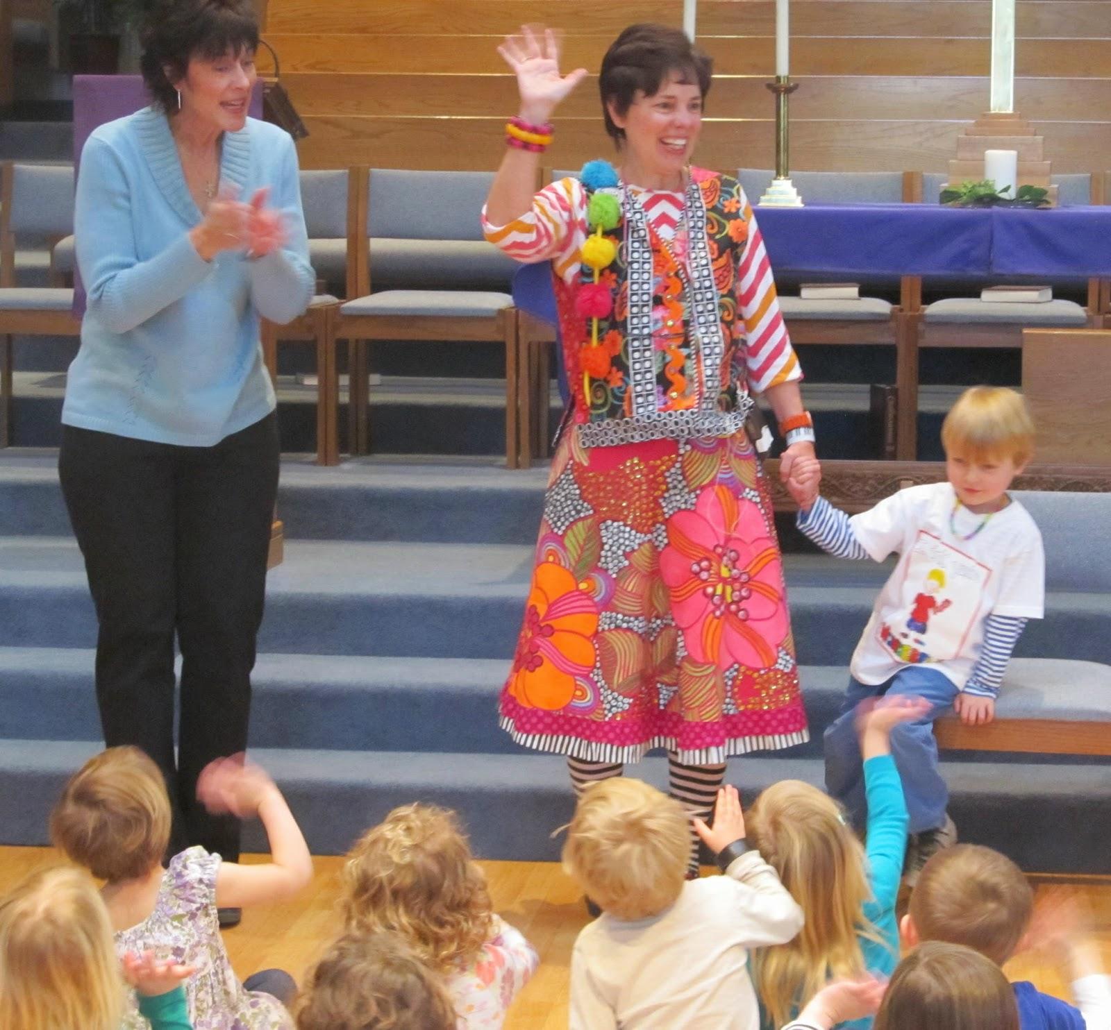 Welcome Author-Illustrator Debbie Clement to Preschool