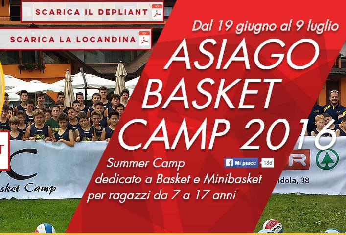 Asiago Basket Camp
