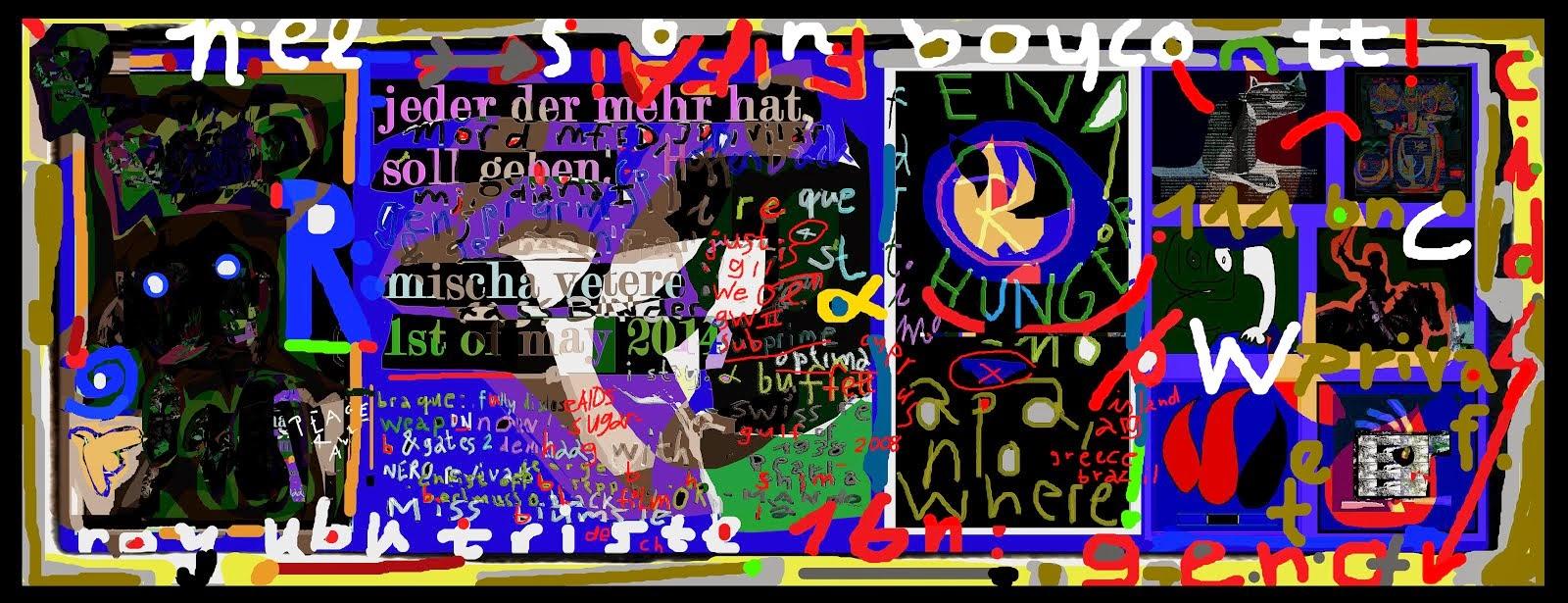 erster mai DIE GEISTIGE REVOLUTION mischa vetere berlin hamburg vive la revolución