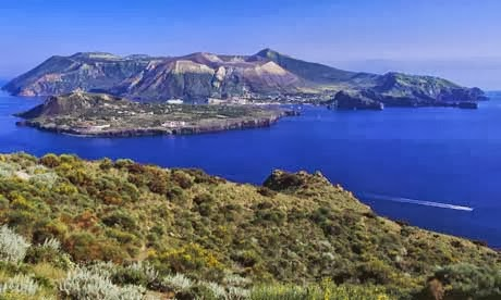 Aeolian Islands in Sicily