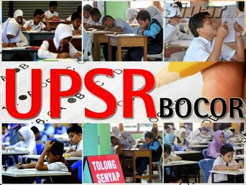 Soalan bocor UPSR 10 individu ditahan sehingga hari ini