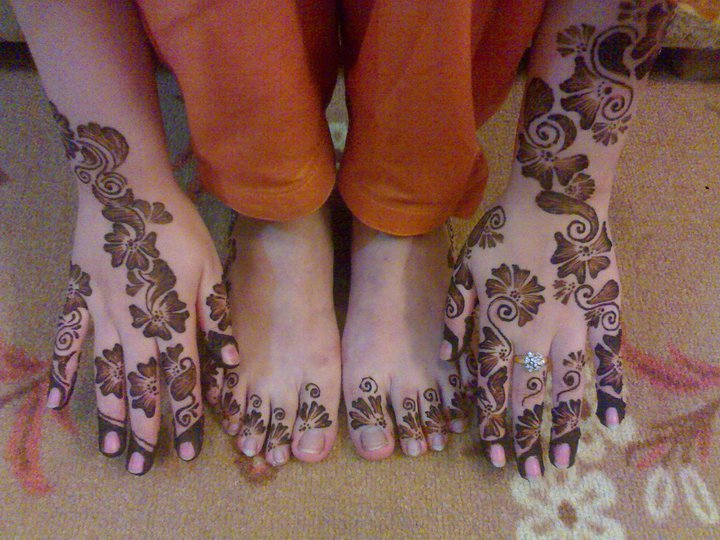 Henna Mehndi Glasgow : New arabic shaded henna designs makedes
