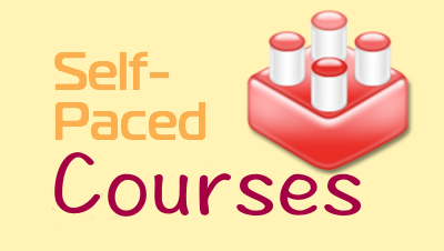 Self paced online courses