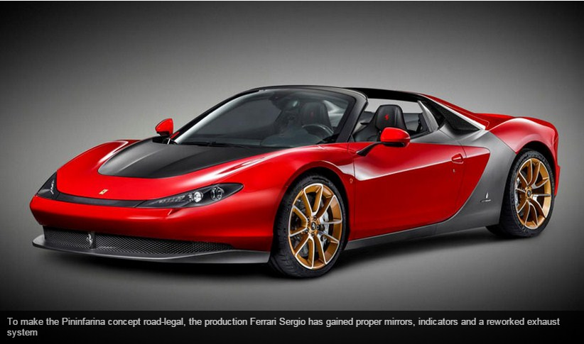 Pininfarina Ferrari Sergio (2014): here's the production version
