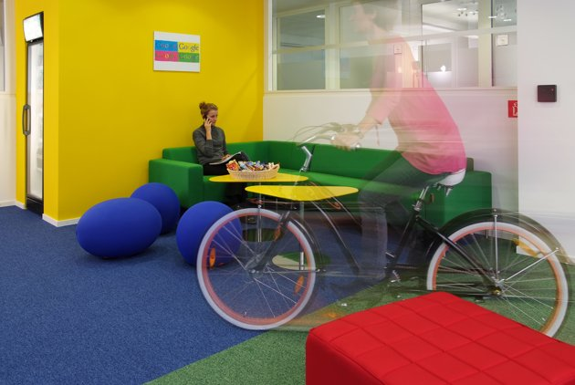 Exceptionnel Check Out The Colorful And Amazing Interiors Google Office In Munich.