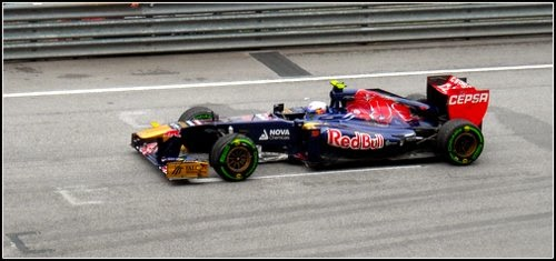 Redbul Driver F1