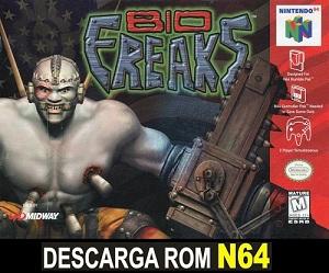 Bio F.R.E.A.K.S. 64 ROMs Nintendo64