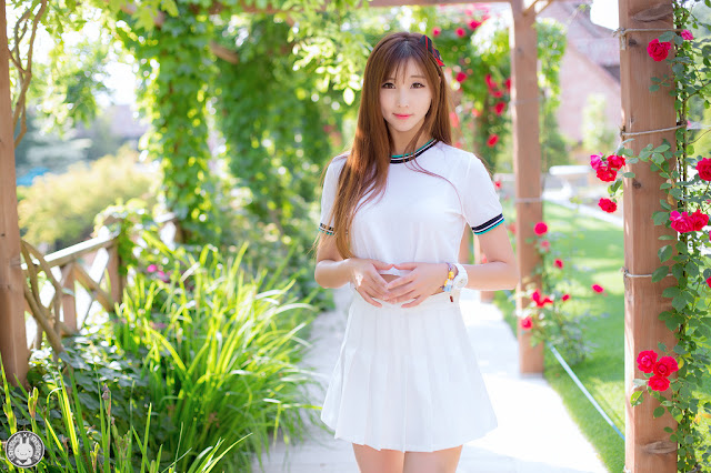 1 Three Outdoor Sets With Lovely Lee Yoo Eun - very cute asian girl-girlcute4u.blogspot.com