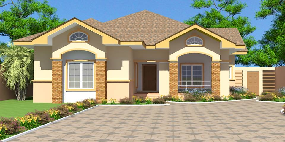 Sophie mbeyu blog nyumba za kisasa for Three bedroom home plans
