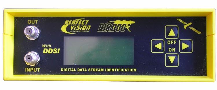 BirDog satellite meter