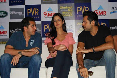 Katrina Kaif Promotes Zindagi Na Milegi Dobara In Chandigarh Wallpapers