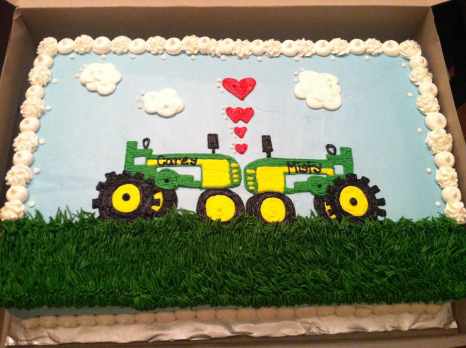 Sweet Treats by Susan Tractor Cake Wedding Reception