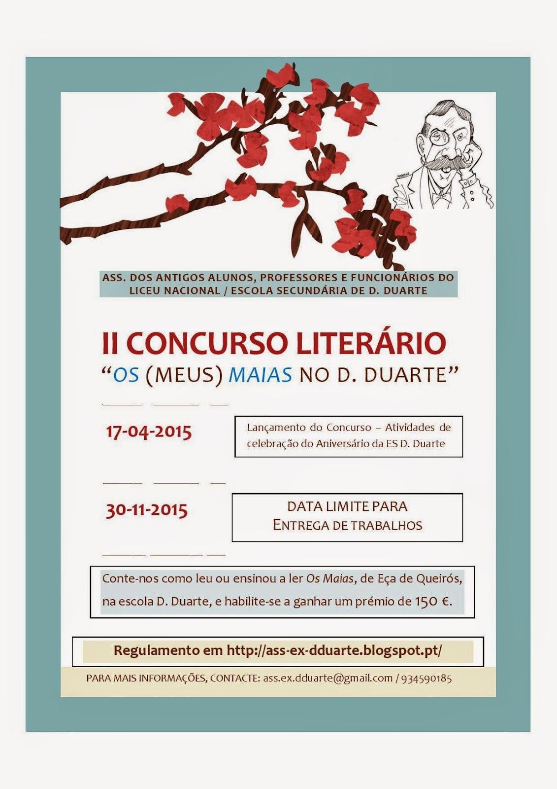 II CONCURSO LITERÁRIO