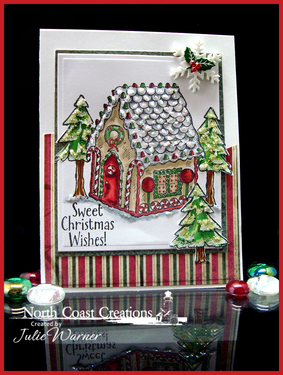 Stamps - North Coast Creations Sweet Christmas Wishes, Happy Camper, ODBD Christmas Paper 2013