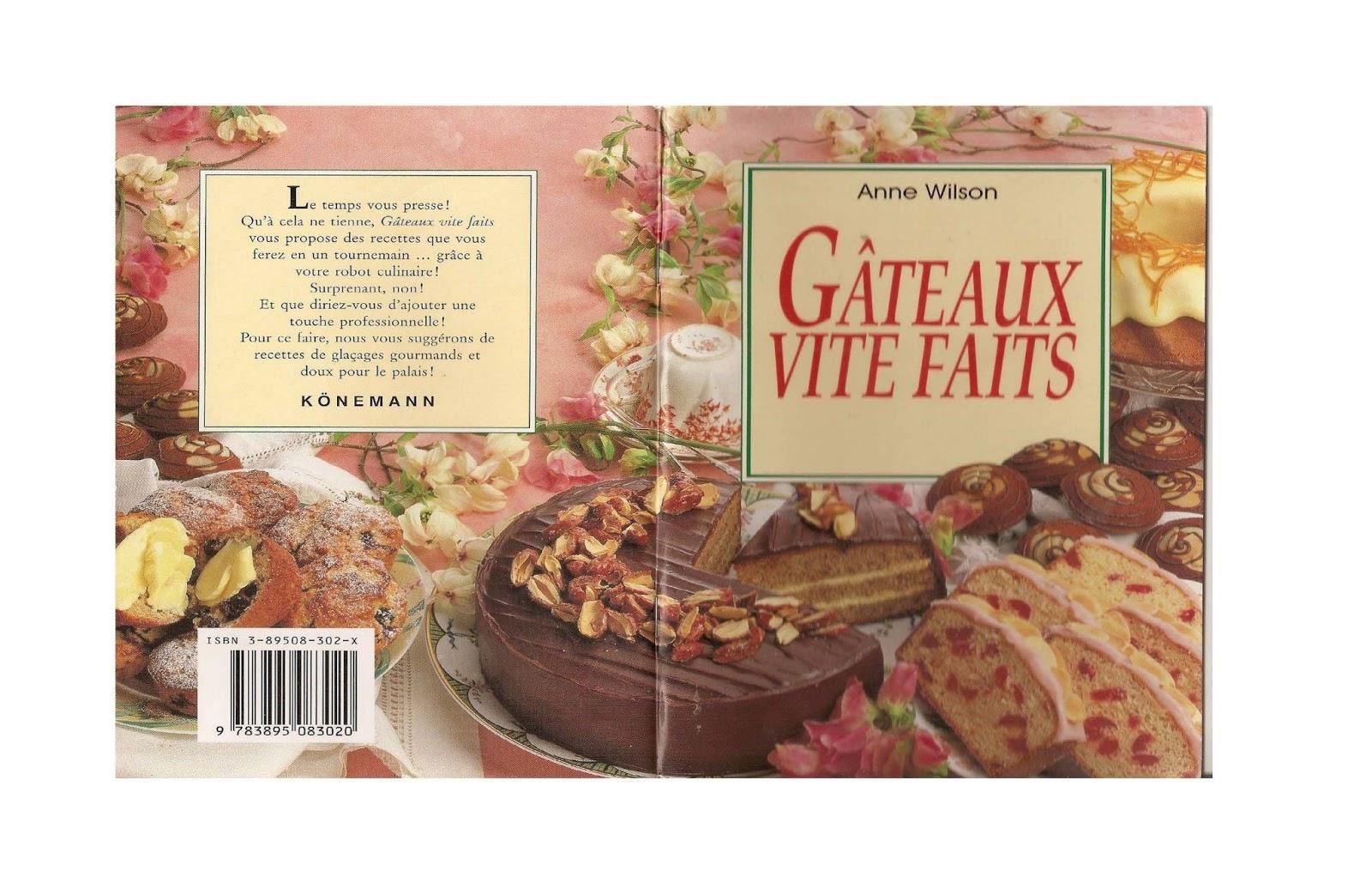 Telecharger anne wilson gateaux vite fait pdf livres - Telecharger recette de cuisine algerienne pdf ...
