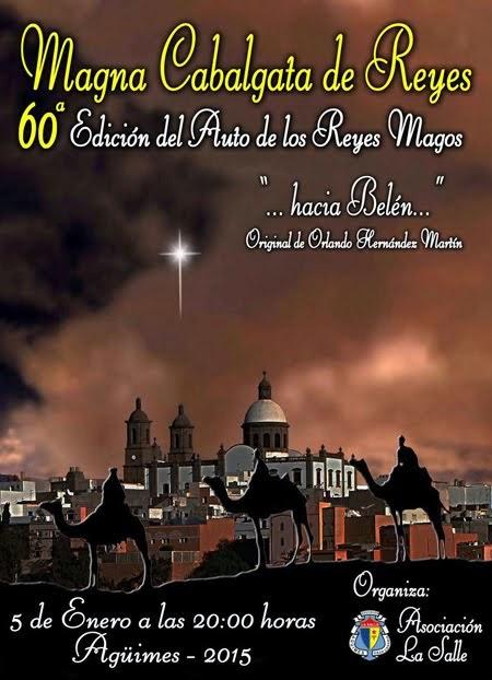 Magna Cabalgata de Reyes 2015