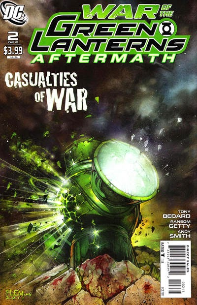 Adn collections: dc comics: war of the green lanterns story [parte 3]