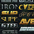 Graphic River 31 Iron Text Effects Download