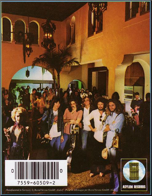 Contraportada de Hotel California