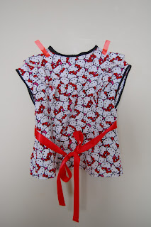 Hello Kitty Blouse by Cicely Ingleside