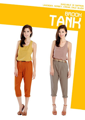 Hervelvetvases brook tank in mustard