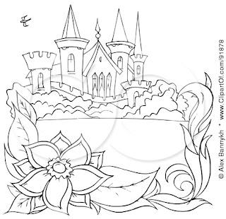 printable castles