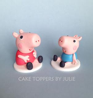 Peppa Pig Birthday Cake Candles
