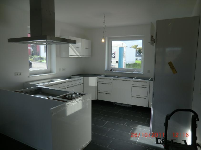 Musterhaus inneneinrichtung küche  Jenny und Stefan bauen ein Haus: Oktober 2011