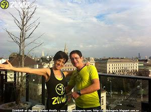 ZUMBA® SEGOVIA en Viena con CARMEN MARTIN Y TOMAS CUELLAR